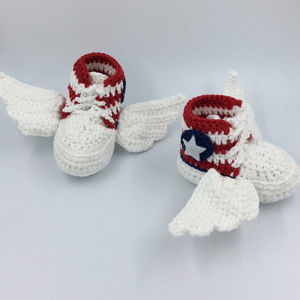 Cute Baby Shoe With Wings