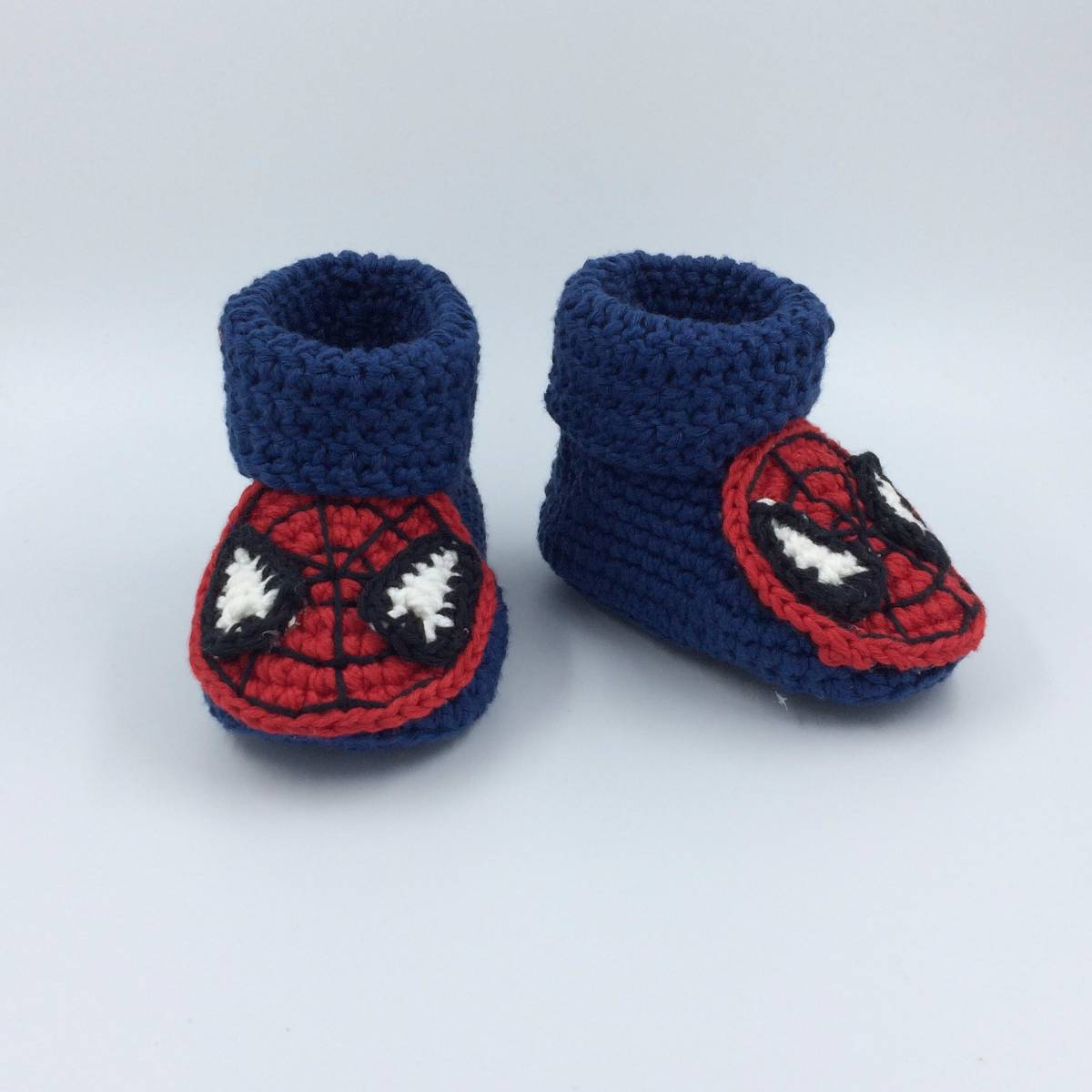 Cute Baby Shoe In Spiderman
