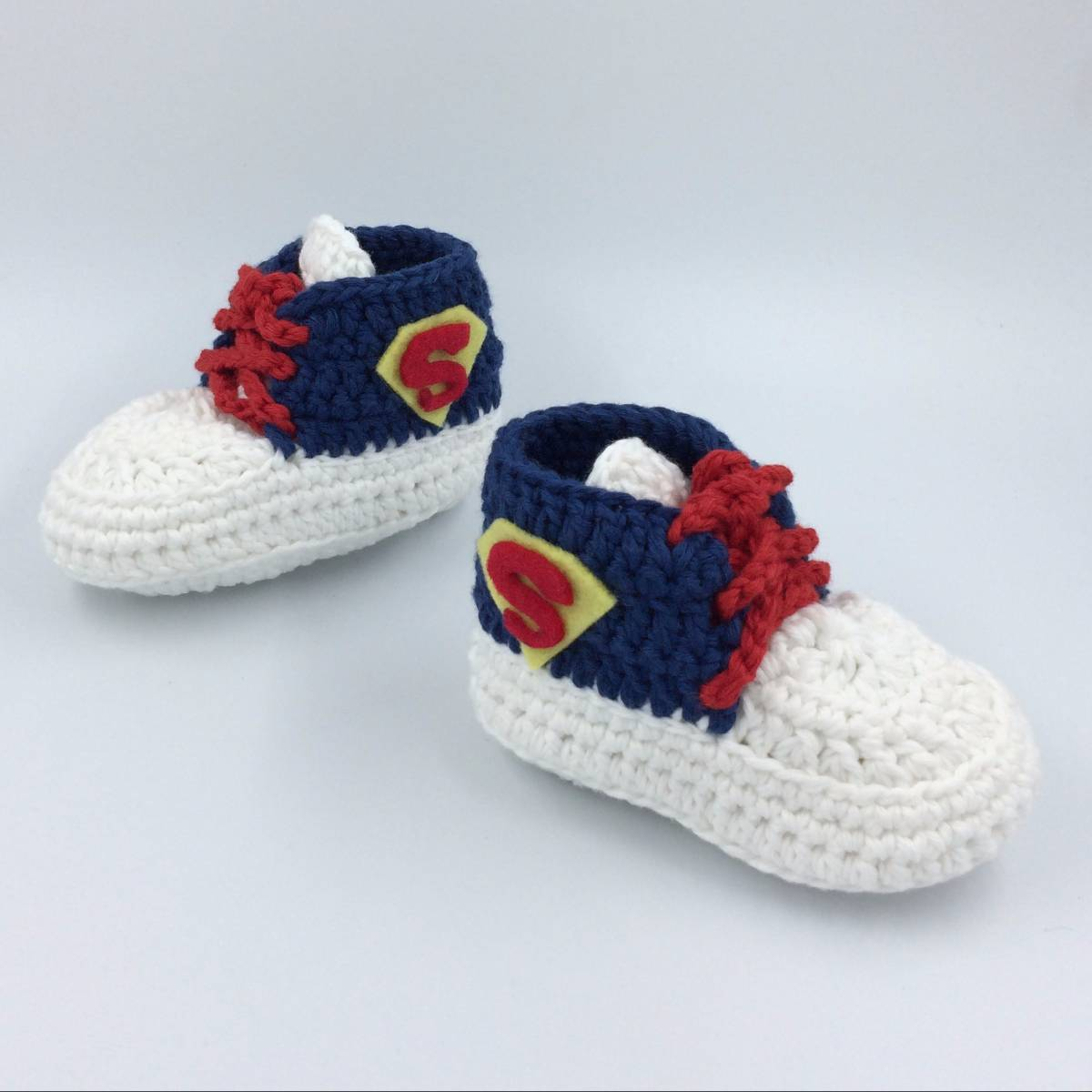Cute Baby Shoe In Superman