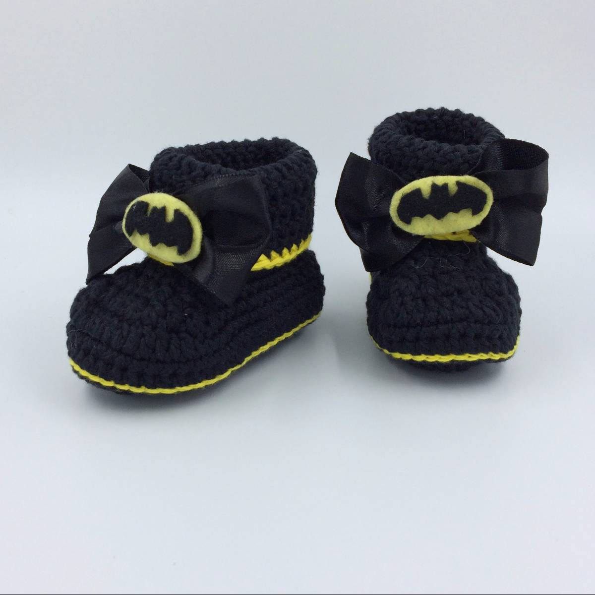 Cute Baby Shoe In Batman