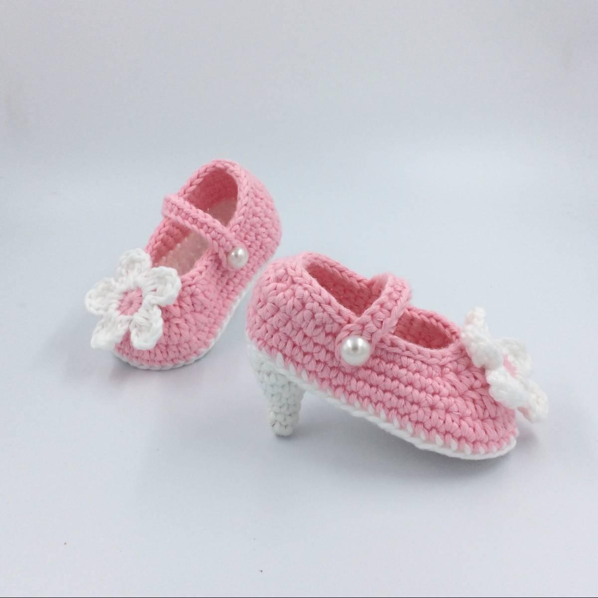 Flower Baby Baby High Heels