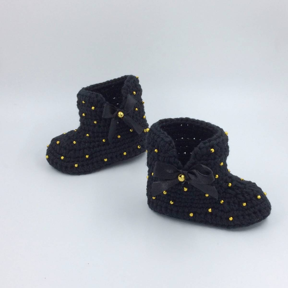 Cute Baby Boots In Black