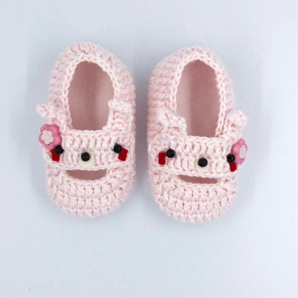 Cute Baby Shoe In Pink