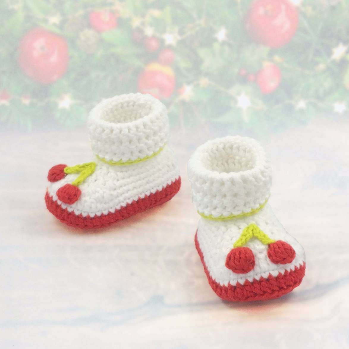 Baby Boot Christmas Theme Ii
