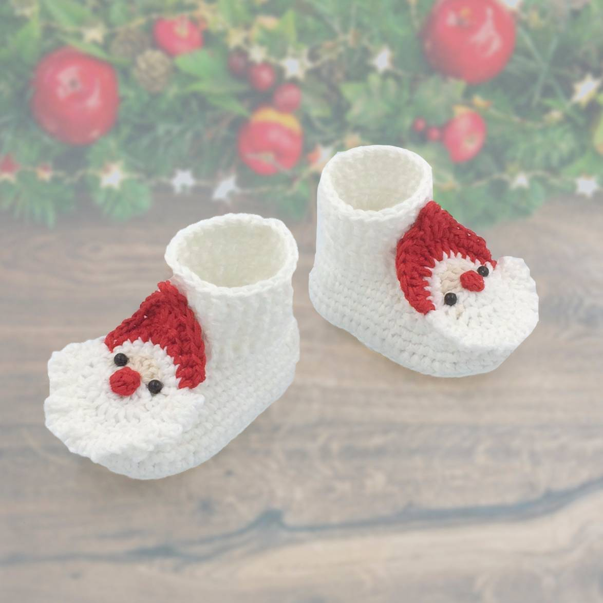 Baby Boot Christmas Theme Iii