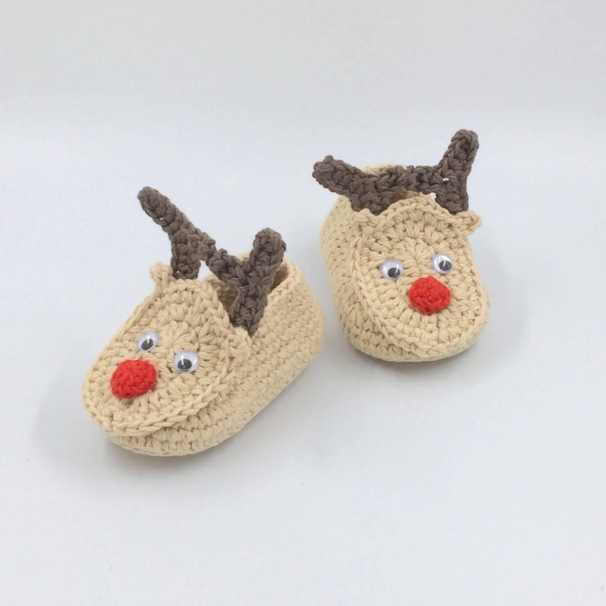 Sepatu Rajut Santa's Deer