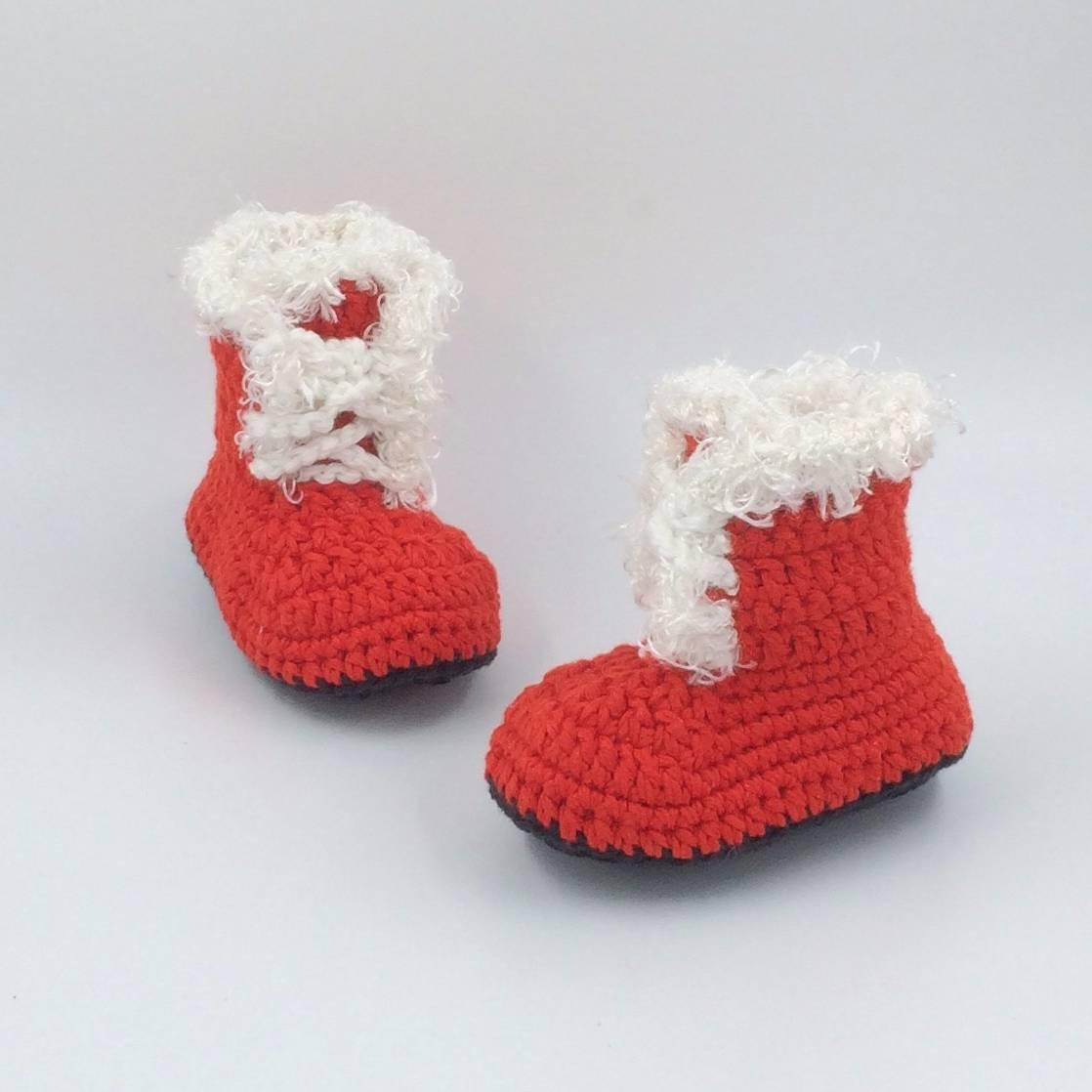 Sepatu Rajut Santa 2