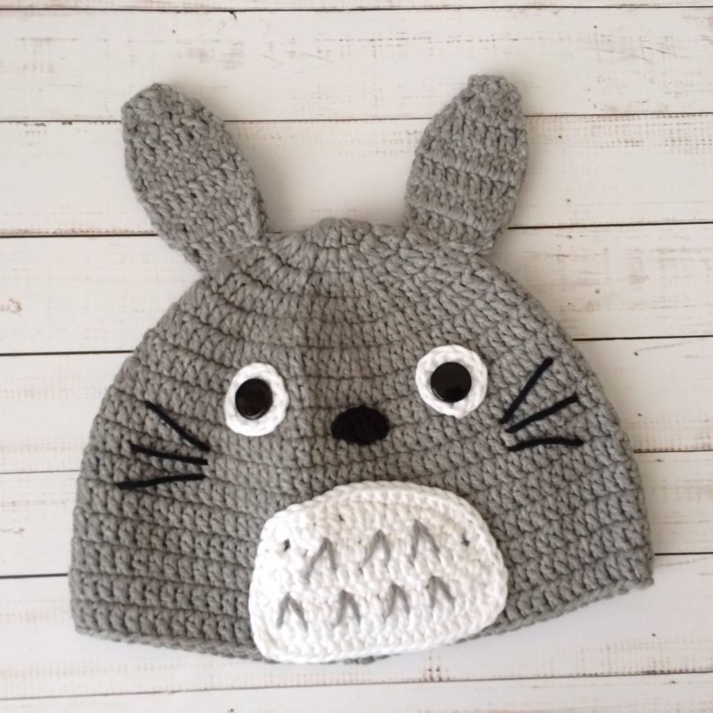 Topi Bayi Rajut Totoro