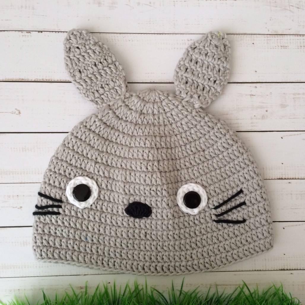 Topi Rajut Totoro