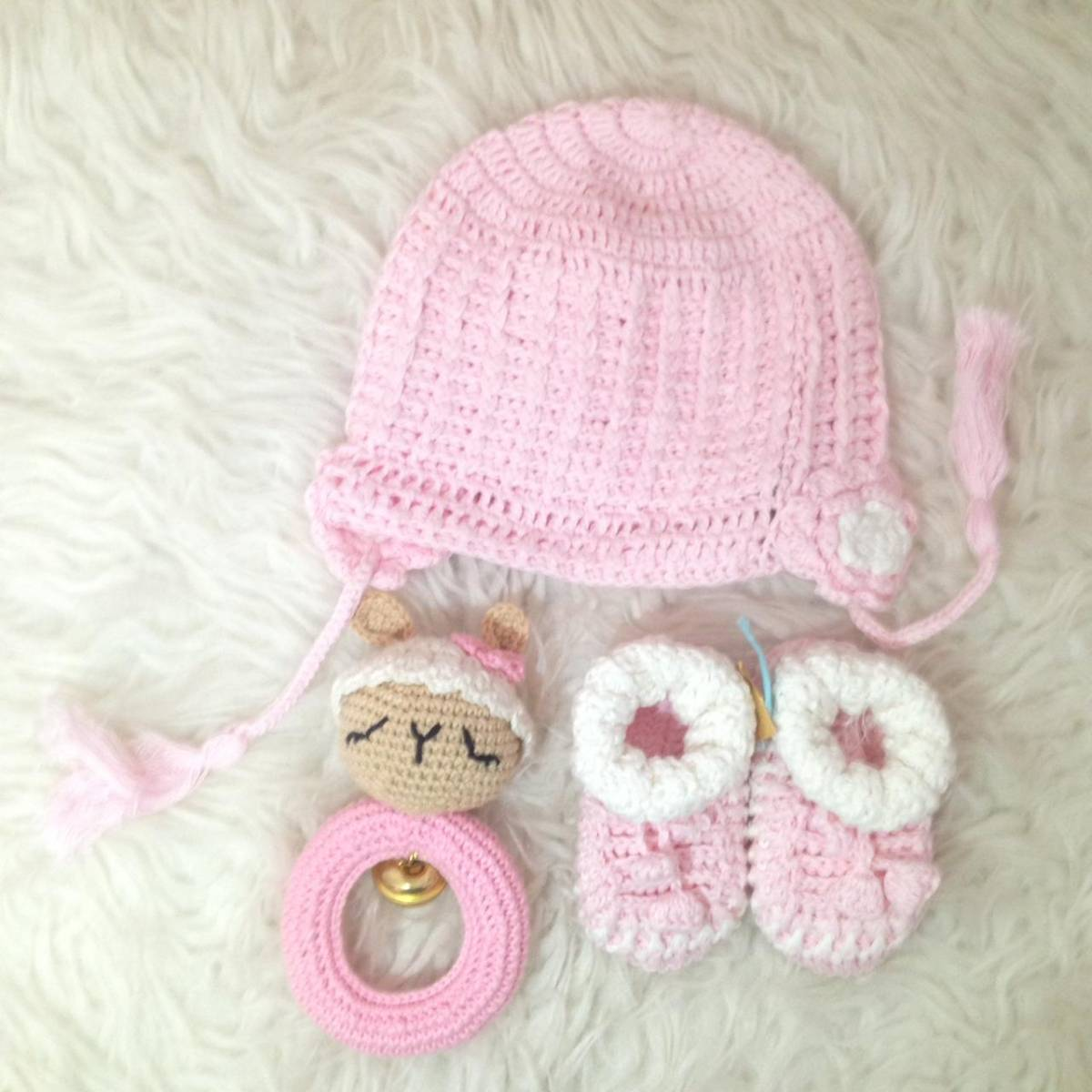 Rajutan Bayi Set