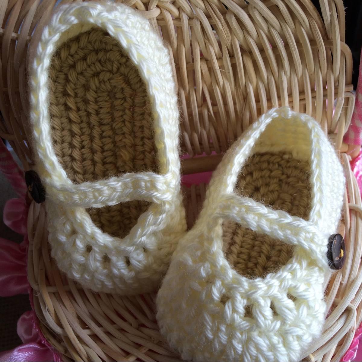Sepatu Rajut Bayi Perempuan