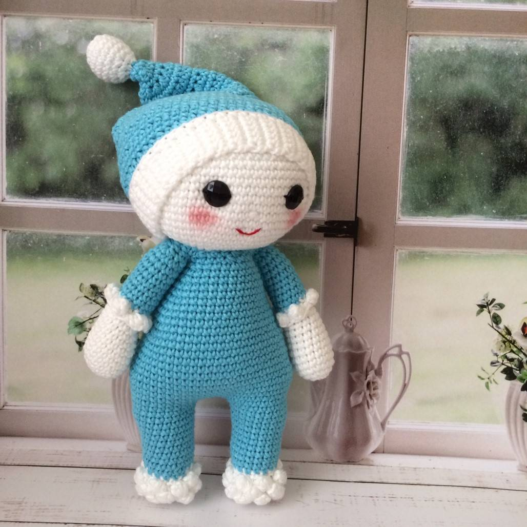 Boneka Amigurumi Blue