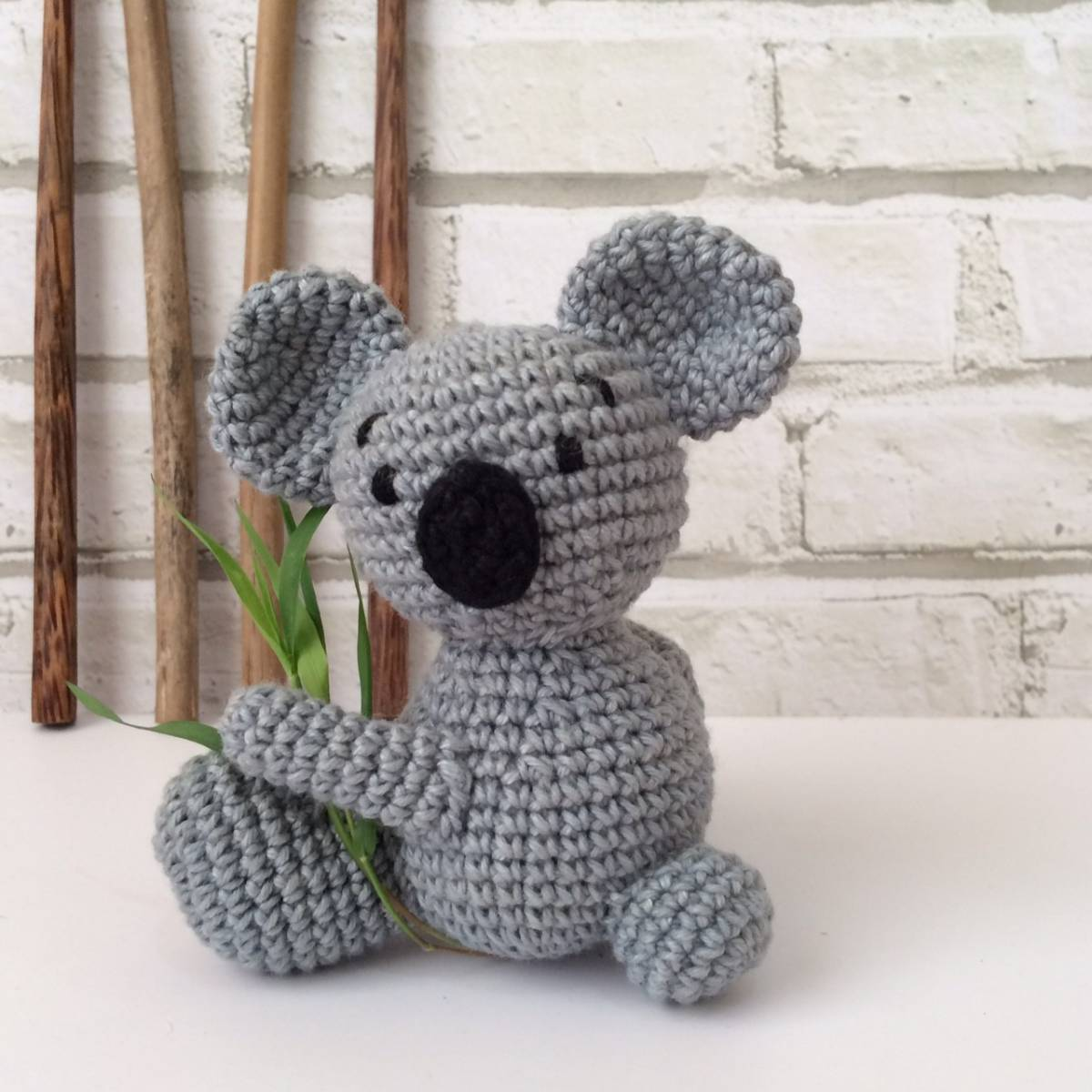 Boneka Rajut Koala