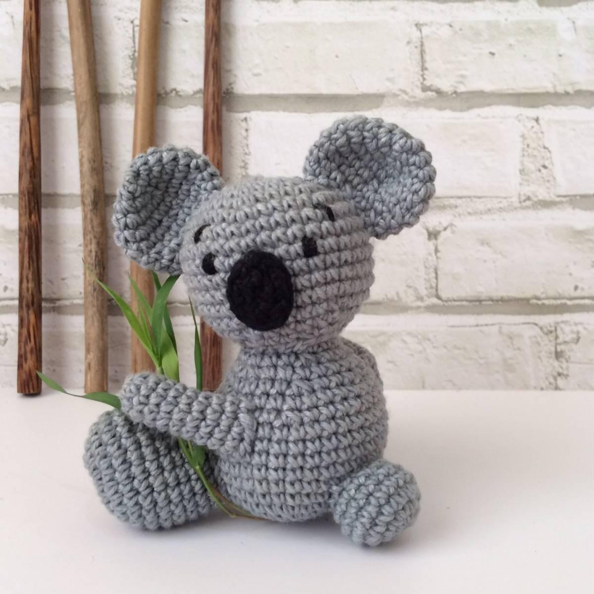 Boneka Rajut Koala0