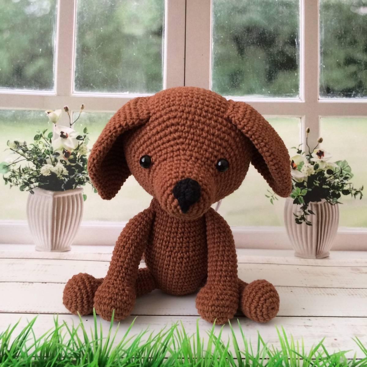 Boneka Rajut Dog