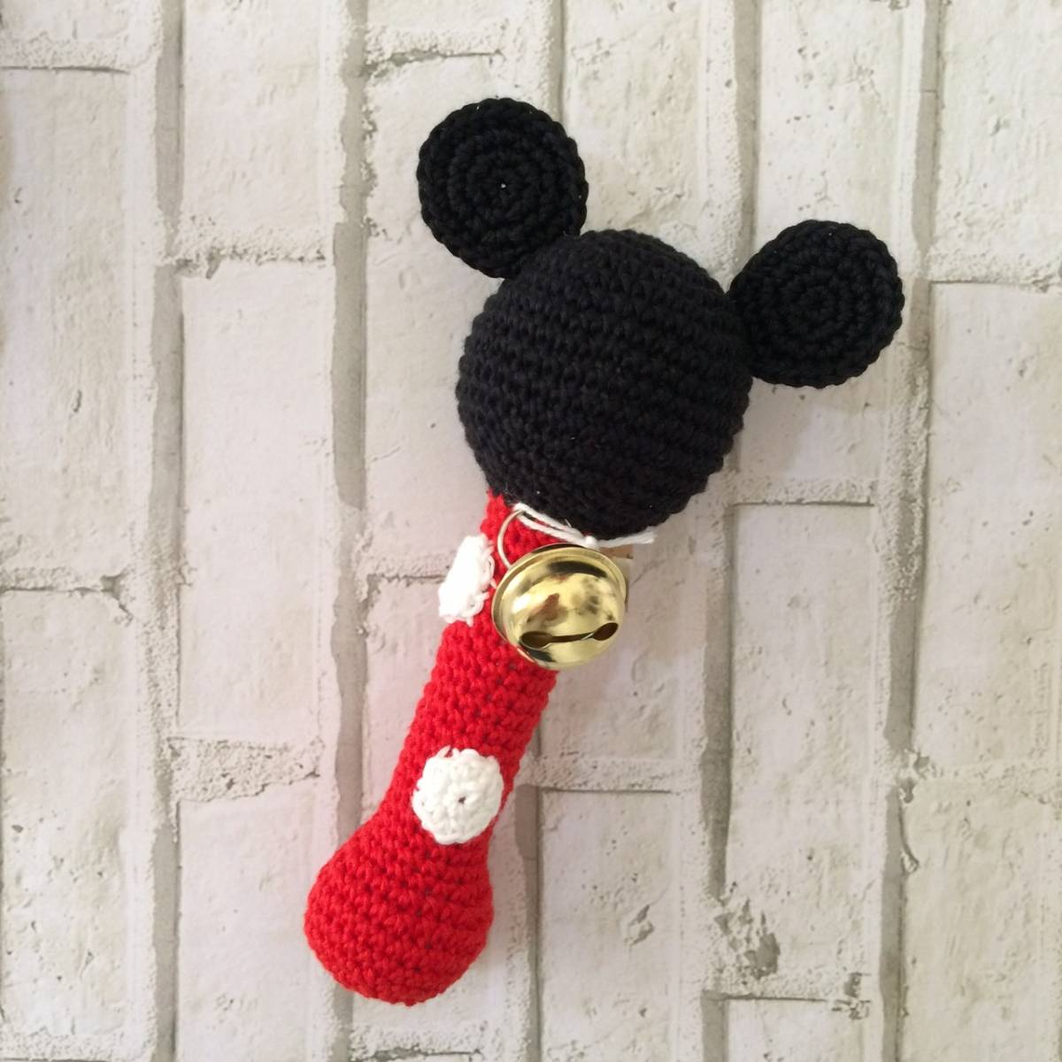 Rattle Rajut Micky