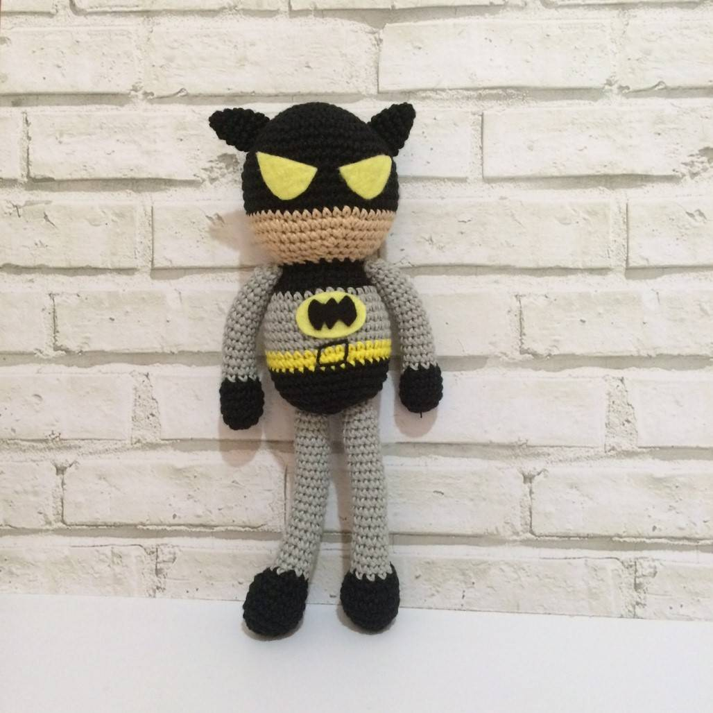 Boneka Rajut Batman