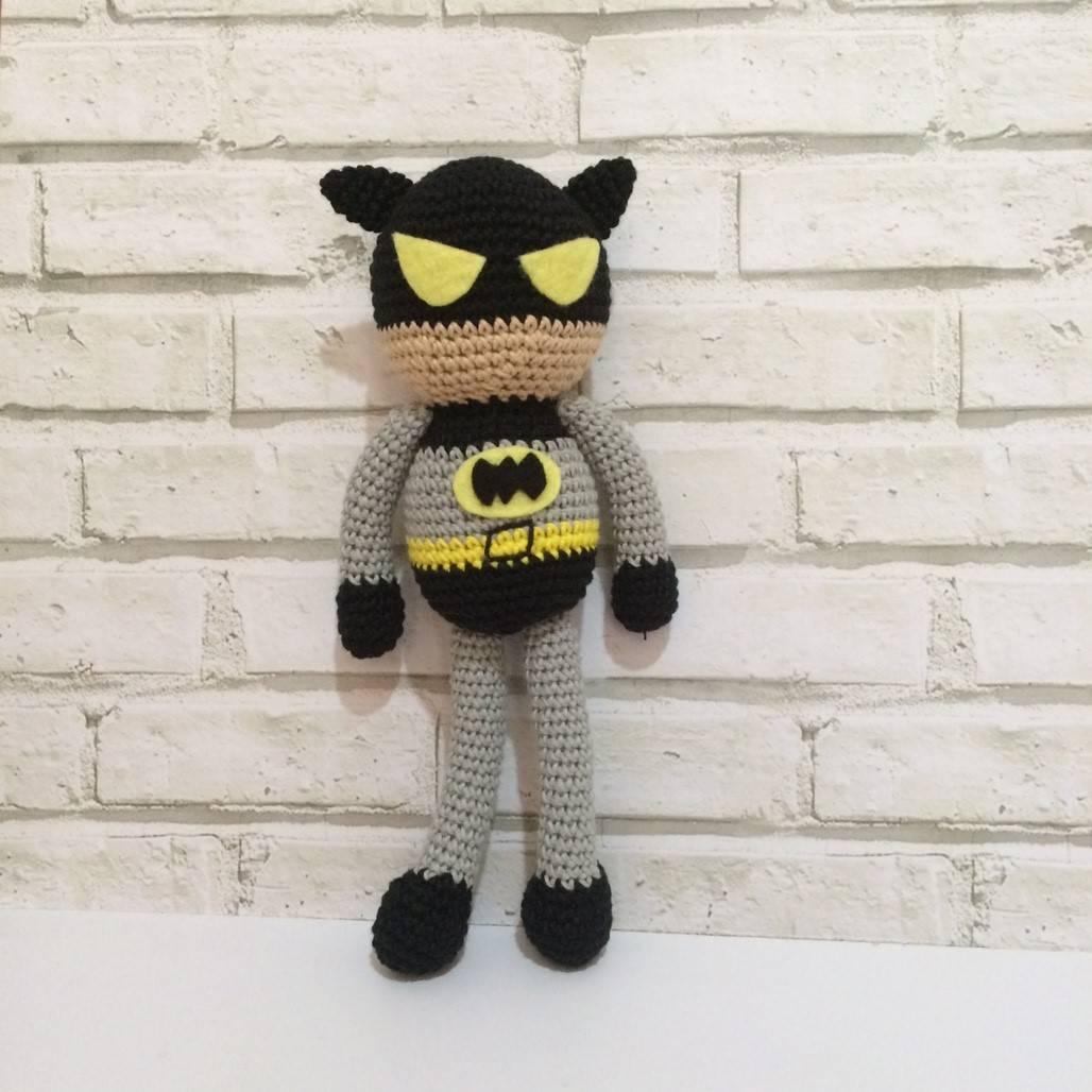 Boneka Rajut Batman0