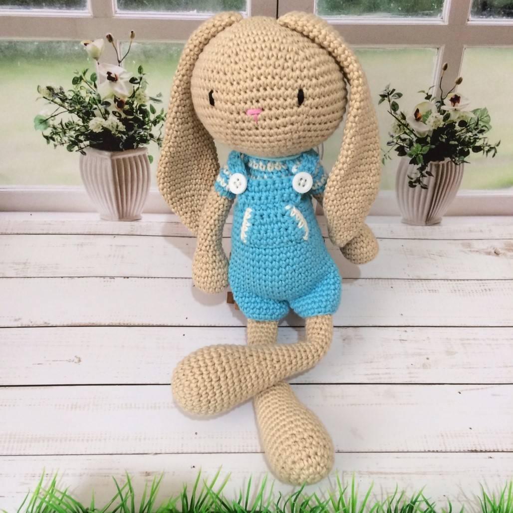 Boneka Rajut Blue