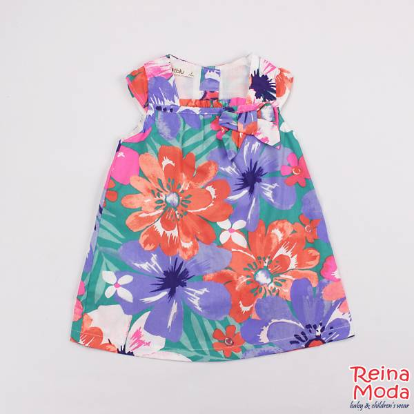 Dress Dotblu Summer Fun (free Kotak Pencil)
