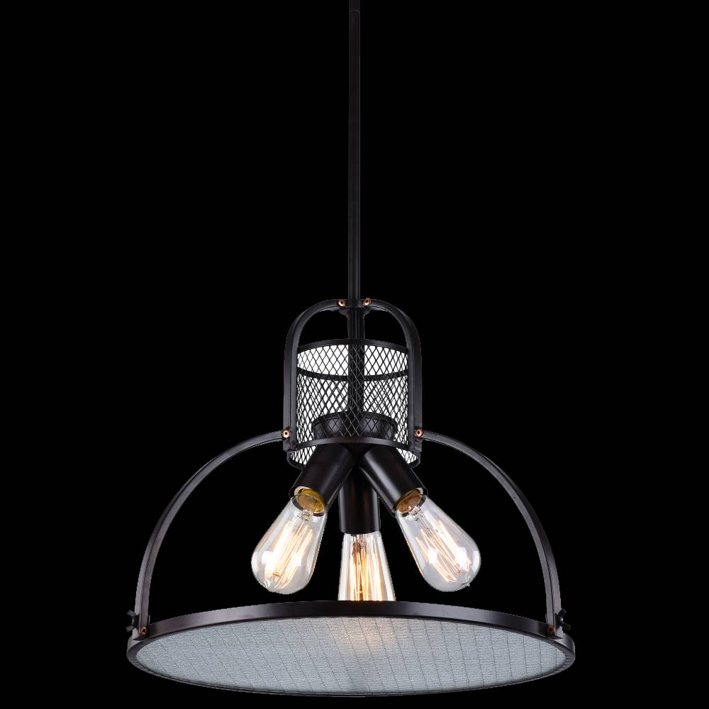 Pendant Lamp Raw Steel 3+mpp88035-3