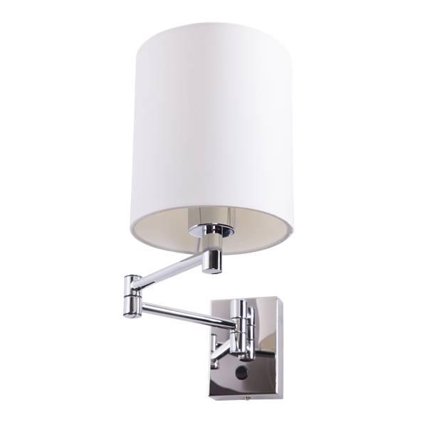 Lampu Dinding / Wall Lamp Black Gauze Fabric Shade 3+wd3008-1-bl-vg1