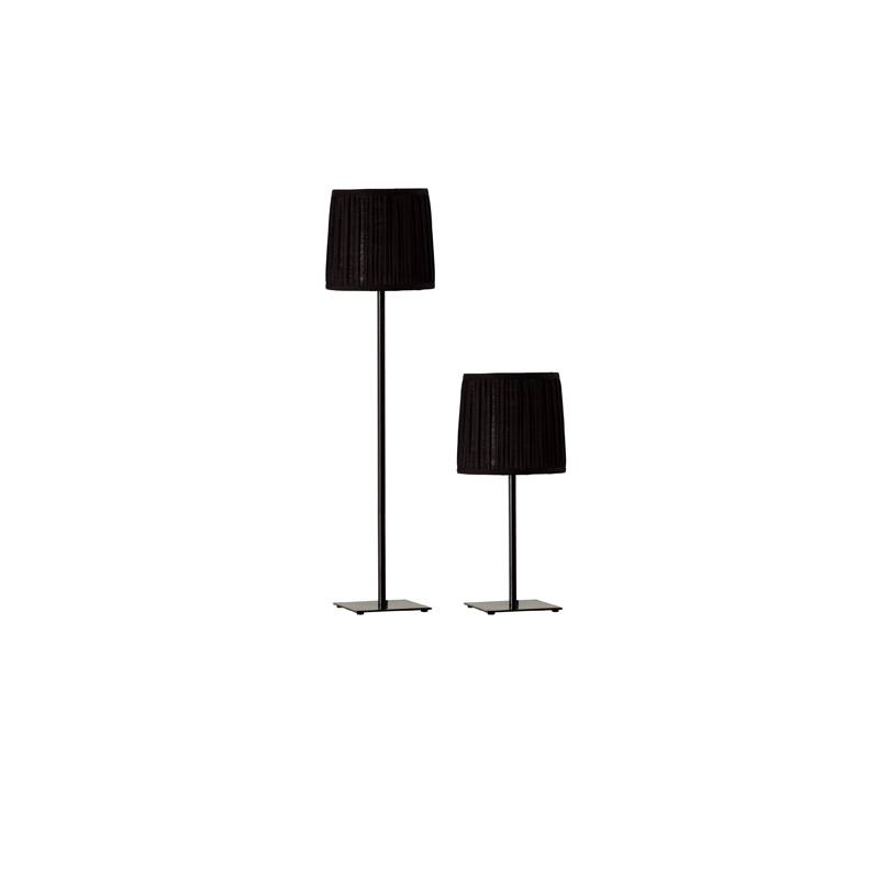 Combo Set (1 Table Lamp + 1 Floor Lamp) Black