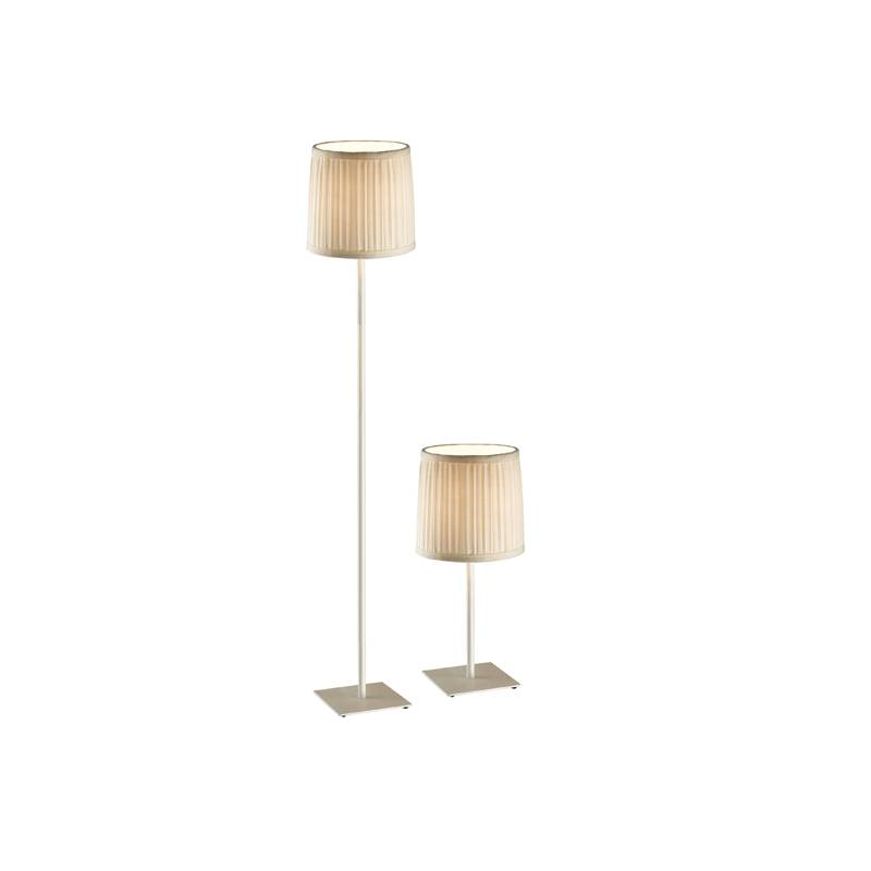 Combo Set (1 Table Lamp+1 Floor Lamp) White