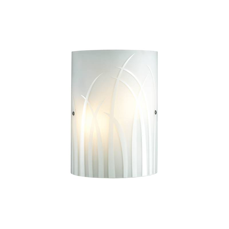 Lampu Dinding / Wall Lamp White Glass