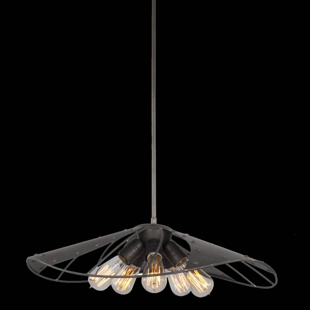 Lampu Gantung / Pendant Lamp Steel Raw Steel