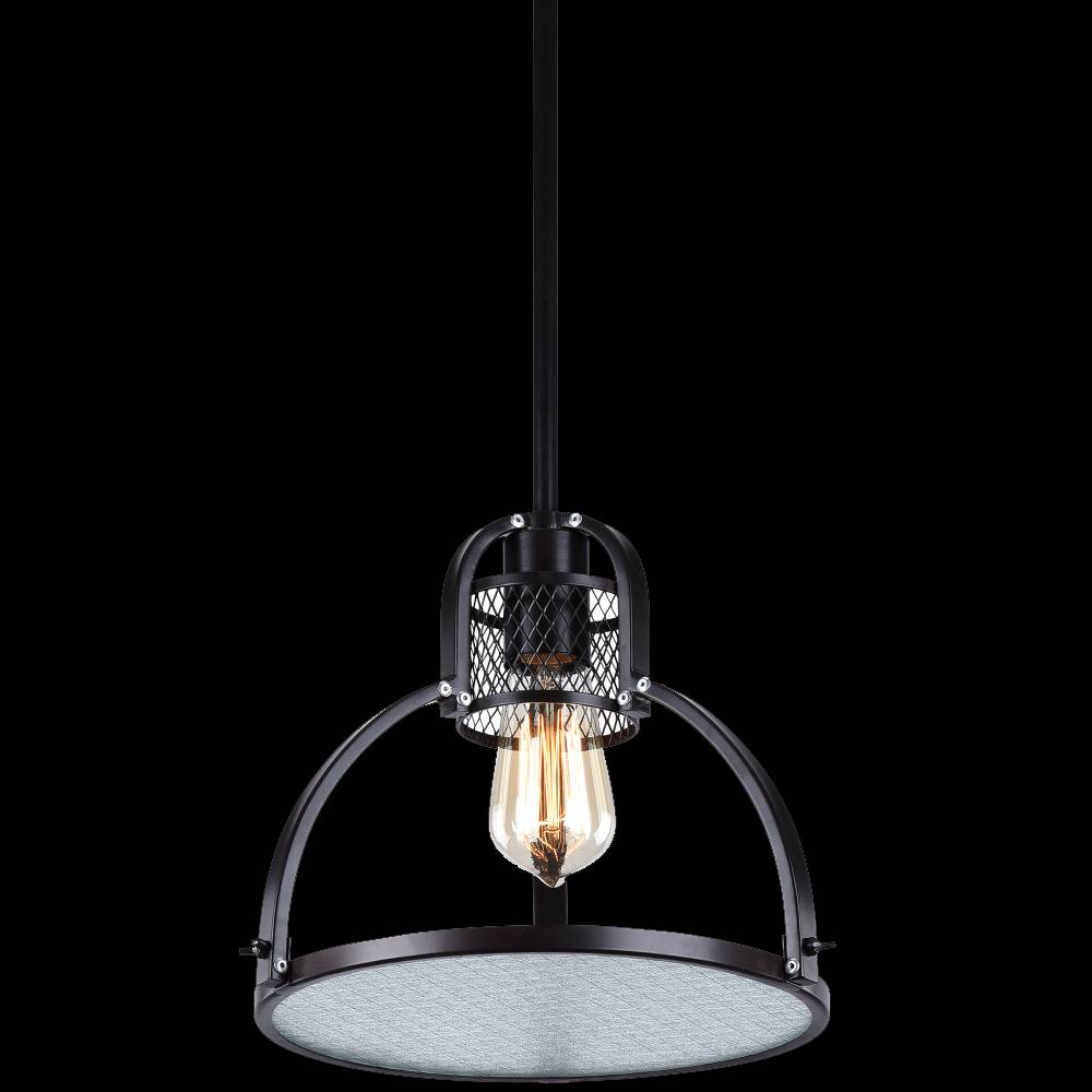 Lampu Gantung / Pendant Lamp Steel+glass Deep Bronze