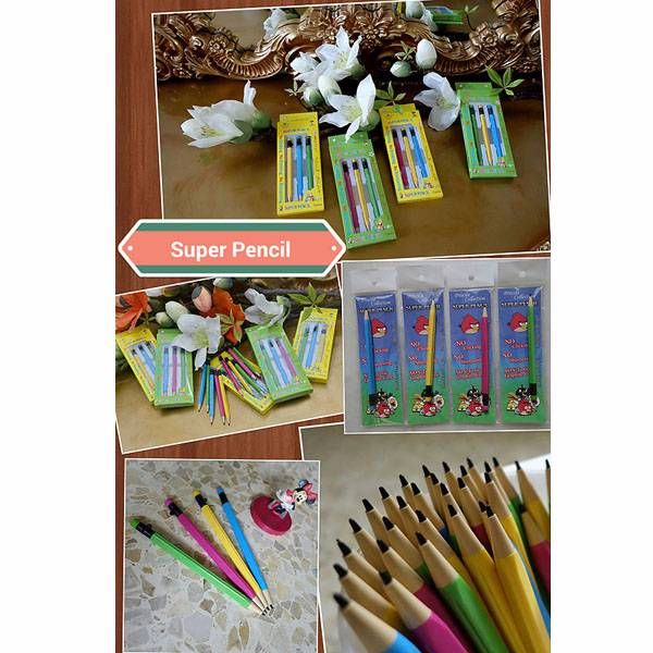 Super Pencil – Pensil Tercanggih Di Dunia By Priscila Collection – 3pcs1