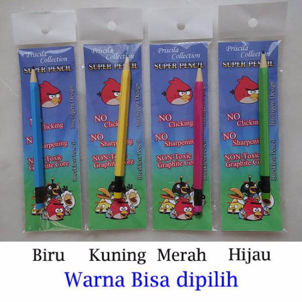 Super Pencil – Pensil Tercanggih Di Dunia By Priscila Collection – 1pc.