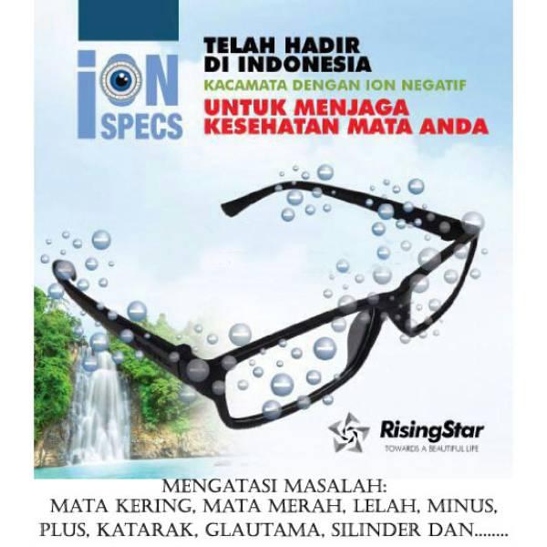 Ion Spec Kacamata Rising Star – Untuk Mengatasi Semua Masalah Mata Anda.