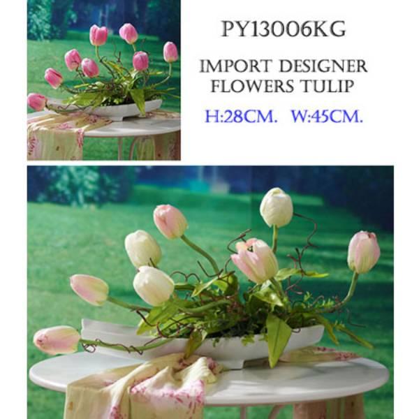 Py13006kg – Import Designer Flower Tulip.
