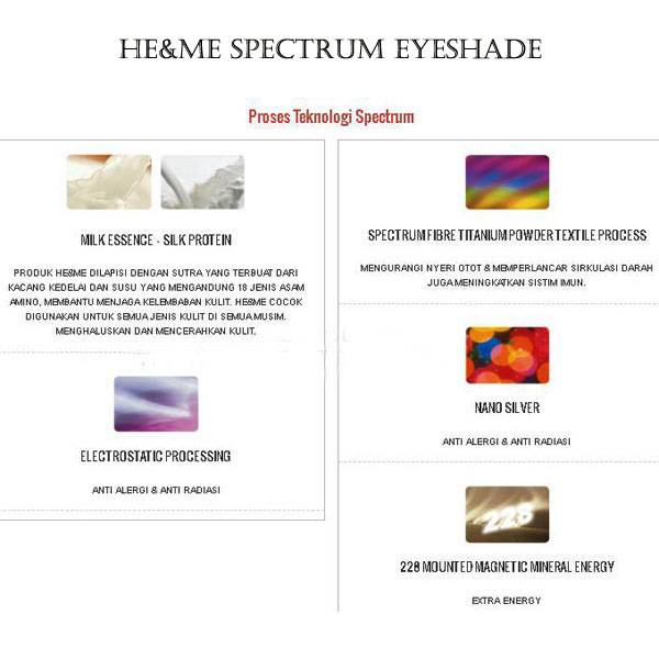 He&me Spectrum Eyeshade By Canai. Code: As07.2