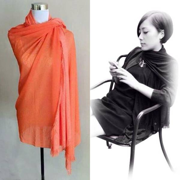 He&me Spectrum Elegant Scarf / Syal By Canai. Code: As09.