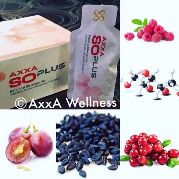 So Plus– Axxa - Rain Soul – Pembersih Darah - 28sachets/box @30ml – Usa2