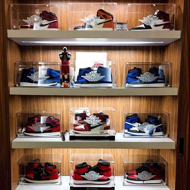 Acrylic Shoes Box Air Jordan3