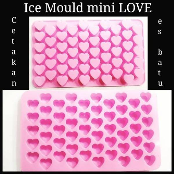 Cetakan Coklat / Es Batu Love Mini