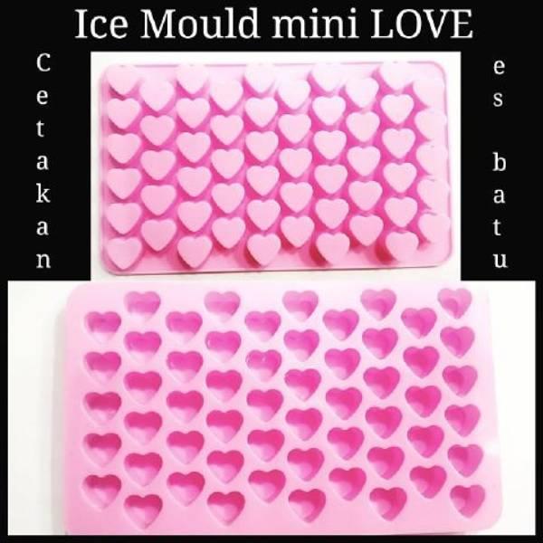 Cetakan Coklat / Es Batu Love Mini