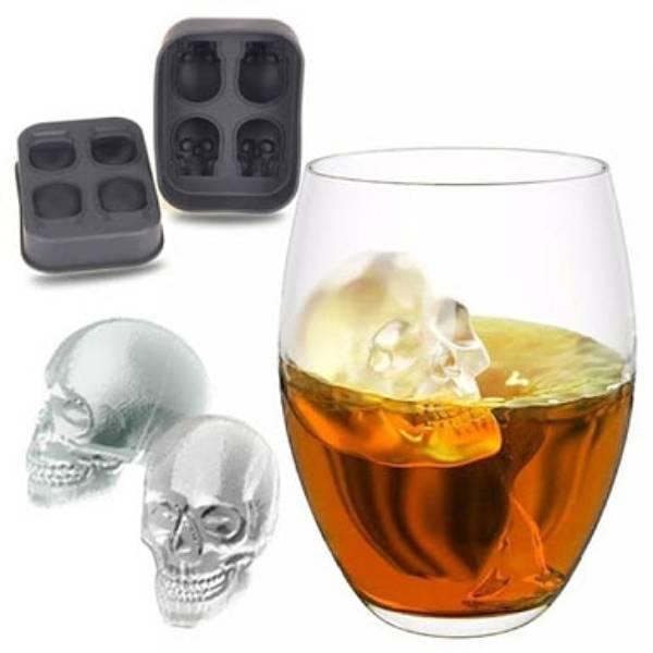 Cetakan Es Batu Skull 4