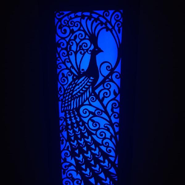 Lampu Hias Dinding Motif Merak4