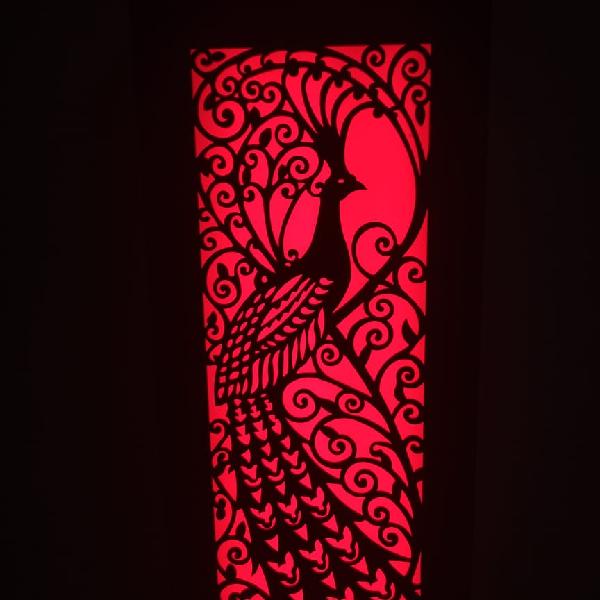 Lampu Hias Dinding Motif Merak