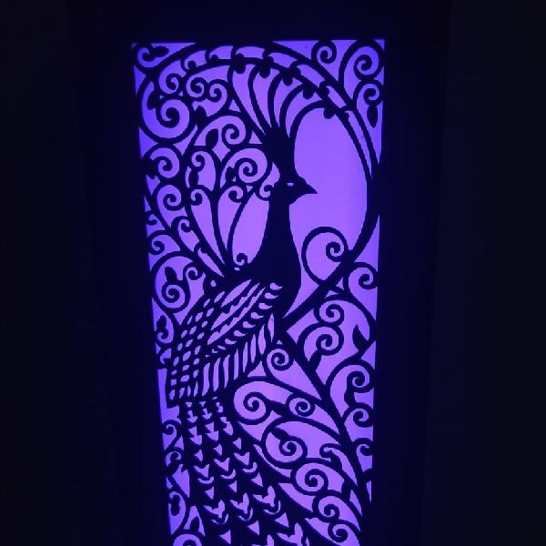 Lampu Hias Dinding Motif Merak3