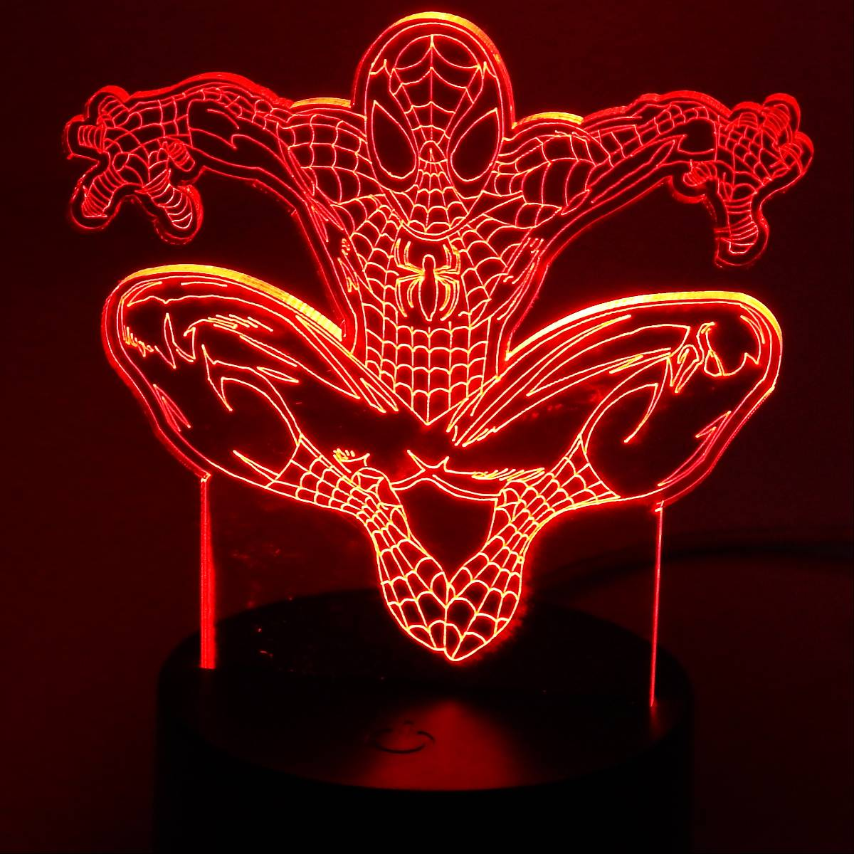 3d Decorative Lamp Spider Man0