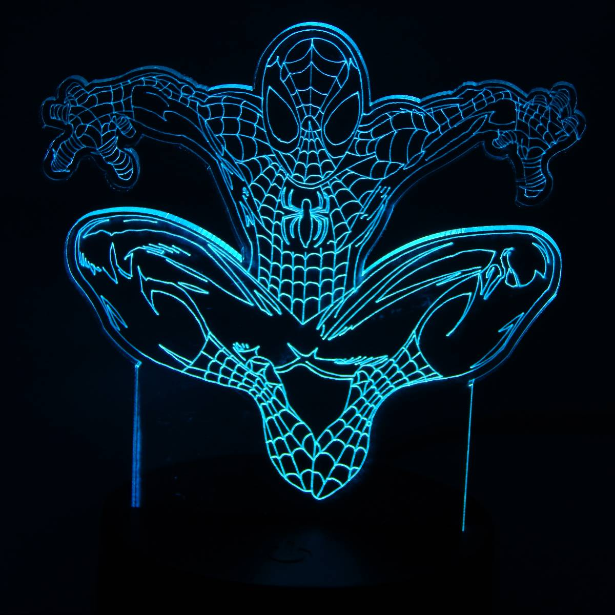 3d Decorative Lamp Spider Man3