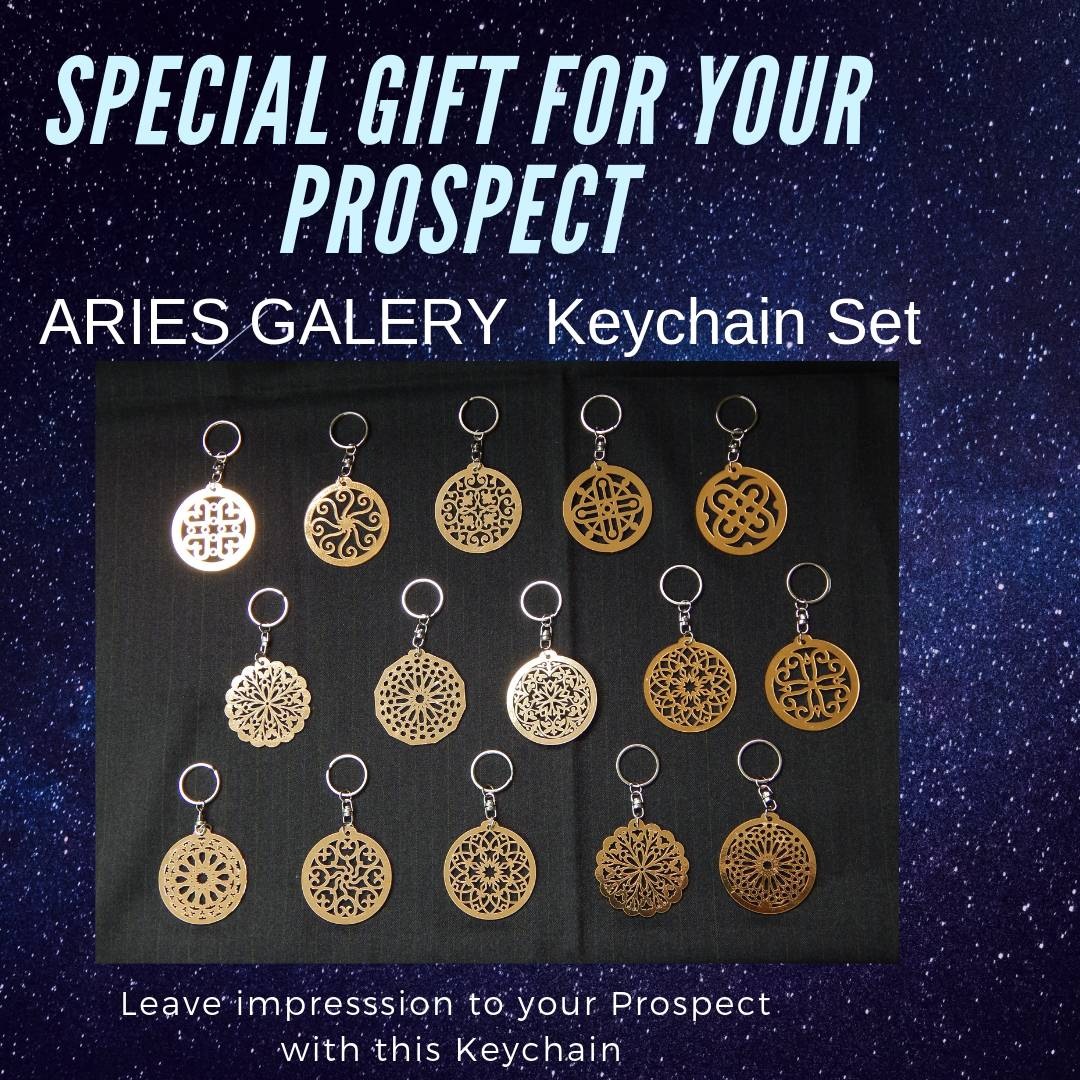 ARIES GALERY KEYCHAIN SET