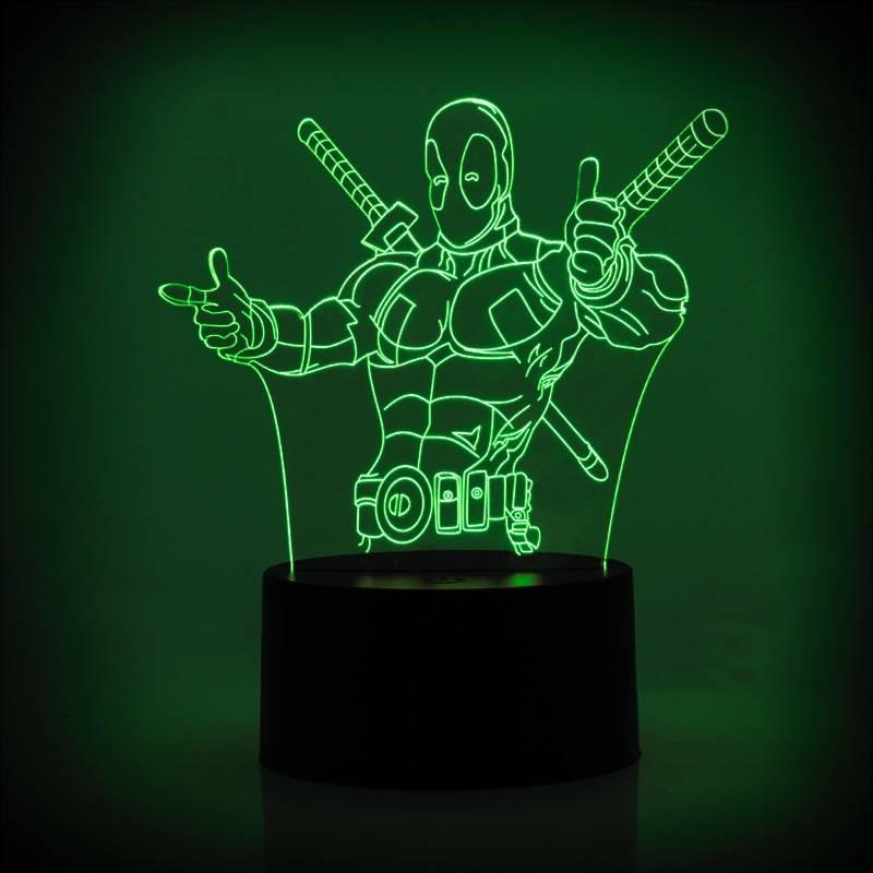 ROBOT STAR WARS ACRYLIC LAMPU MEJA2