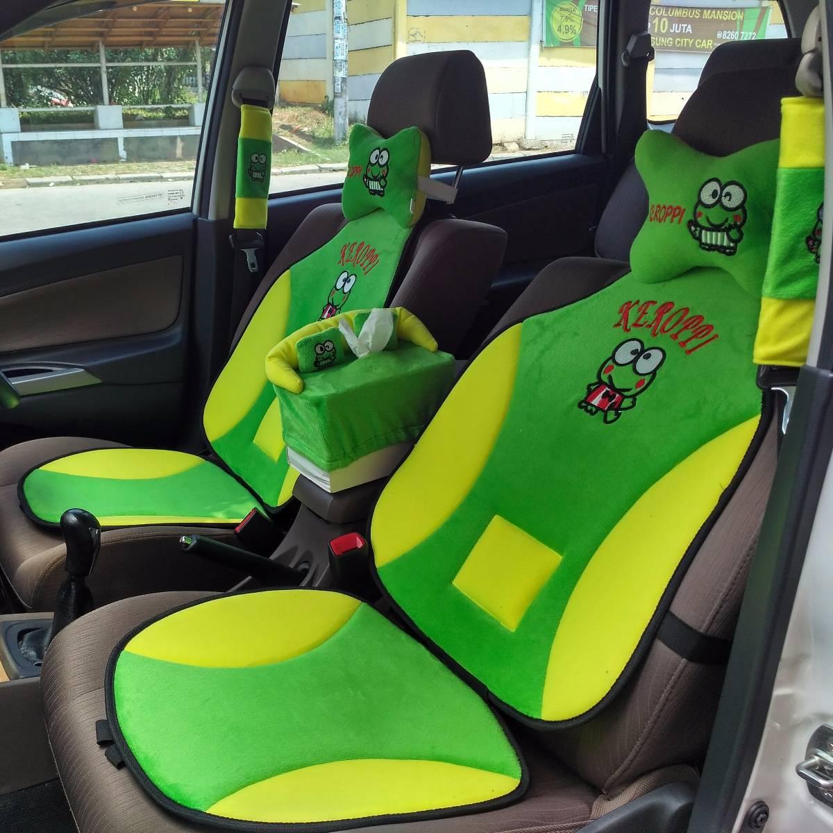Car Set / Sandaran Jok Mobil Motif Karakter